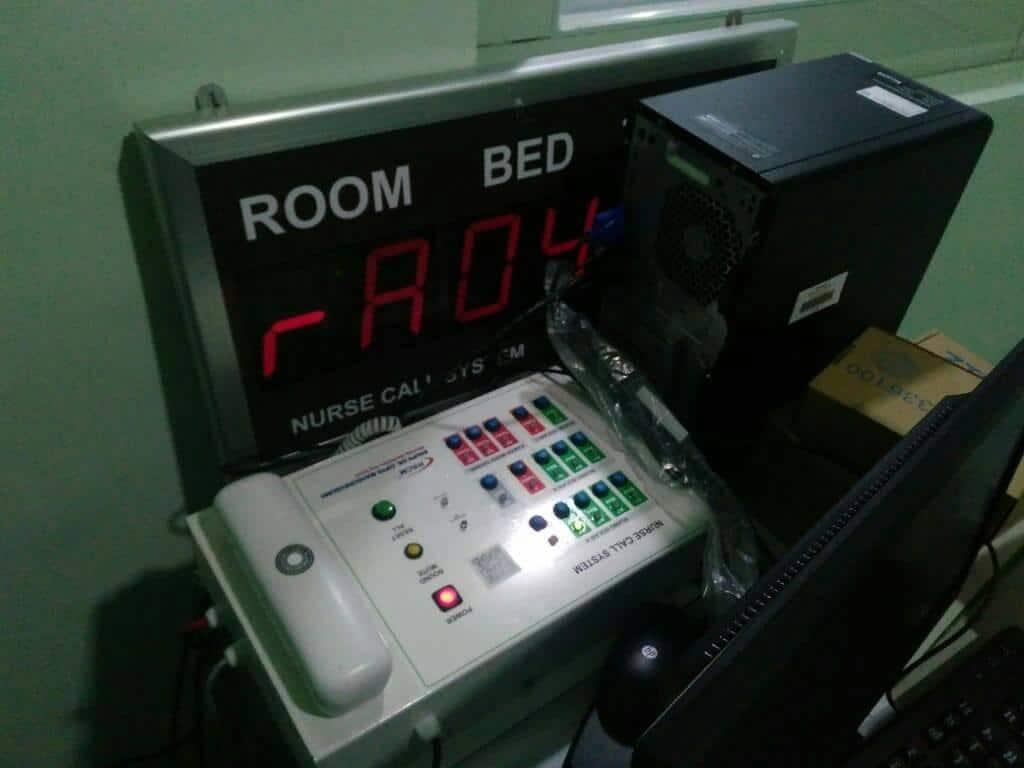 Tombol Pemanggil Perawat Nurse Call Rumah sakit